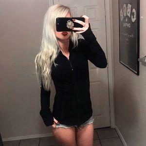 🍋 Lululemon Black Athletic Zip Up Jacket
